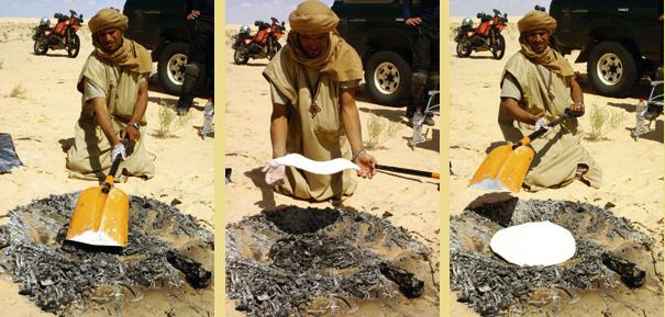 The famous desert-bread of Tahar!