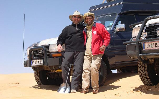 toms fahrzeugtechnik always travels with tahar smida!